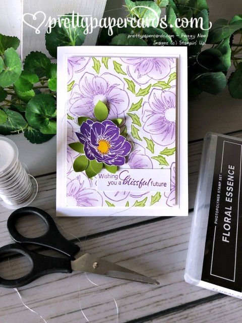 Stampin' Up! Perennial Essence Card - Prettypapercards - stampinup