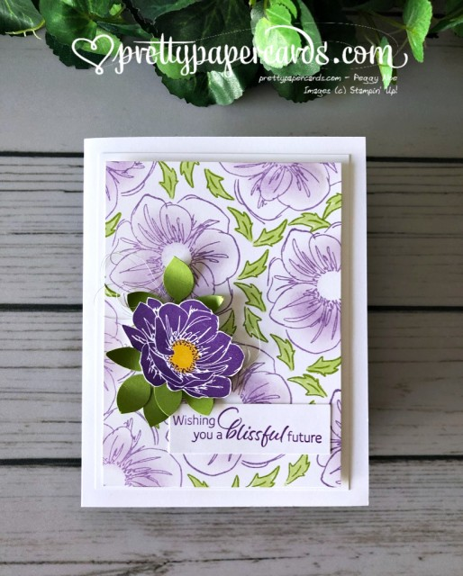 Stampin' Up! Perennial Essence Flowers - Peggy Noe - stampinup