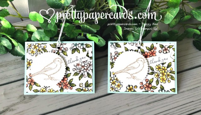 Stampin' Up! Bird Ballad Tags - Peggy Noe - stampinup
