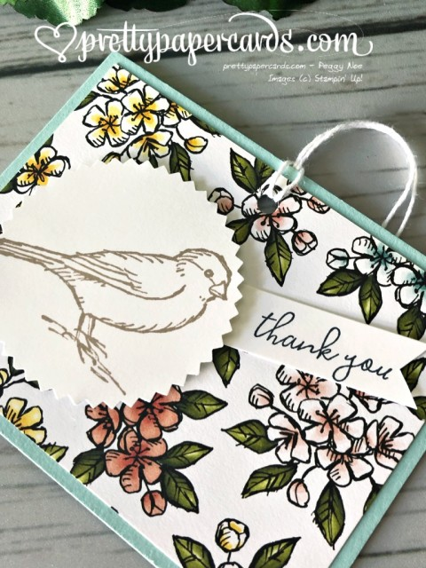Stampin' Up! Bird Ballad - prettypapercards - stampinup