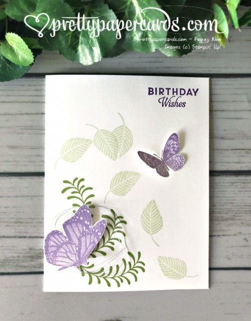Stampin' Up! Birthday Wishes - Peggy Noe - stampinup