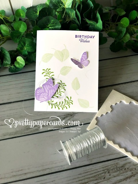 Stampin' Up! Butterfly Wishes Birthday - Peggy Noe - stampinup