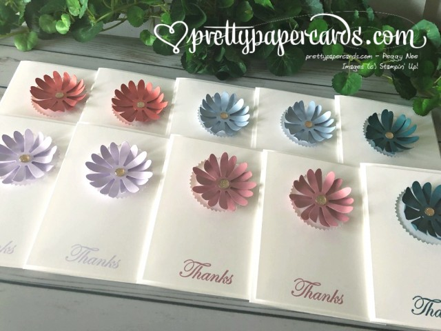 Stampin' Up! Daisy Delight Thanks - prettypapercards - stampinup