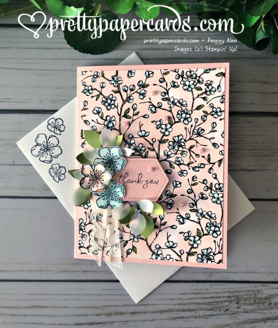 Stampin' Up! Free as a Bird - Peggy Noe - stampinup