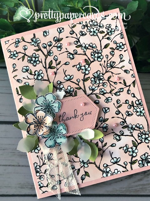 Stampin' Up! Free as a Bird card - Peggy Noe - stampinup