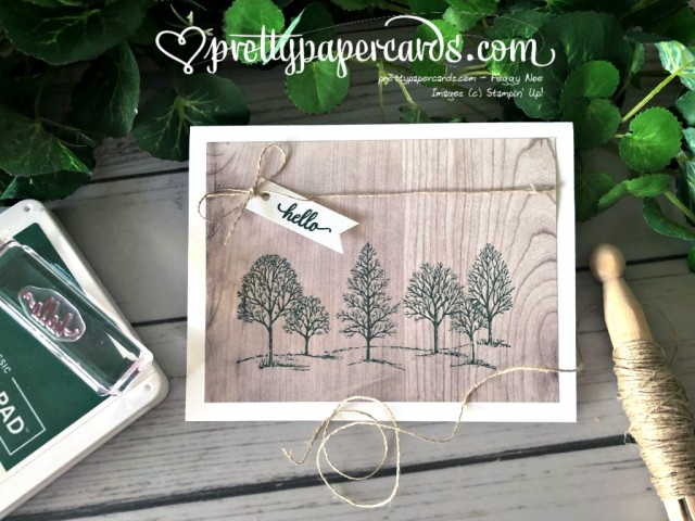Stampin' Up! Lovely as a Tree - Pretty Paper Cards - stampinup