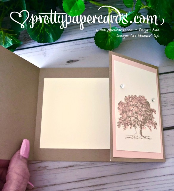 Stampin' Up! Lovely as a Tree Sympathy - prettypapercards - stampinup
