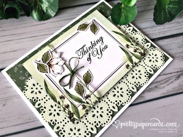 Stampin' Up! Magnolia Thank You - Peggy Noe - stampinup