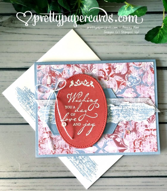 Stampin' Up! Woven Threads - prettypapercards - stampinup