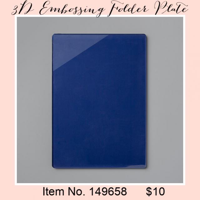 3D Embossing Folder Plate 149658G