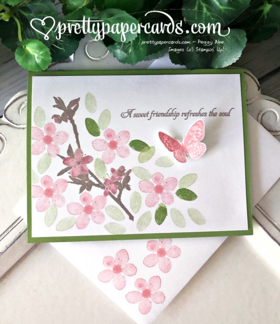 Stampin' Up! Butterfly Wishes Friend - Peggy Noe - stampinup