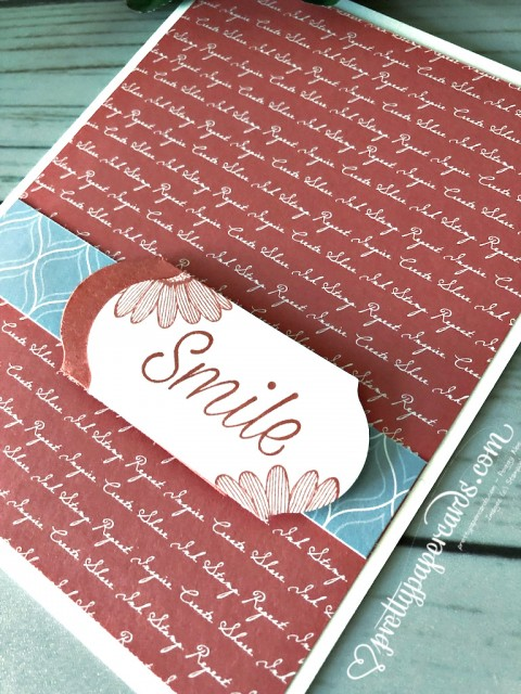 Stampin' Up! Daisy Lane Card - Peggy Noe - stampinup