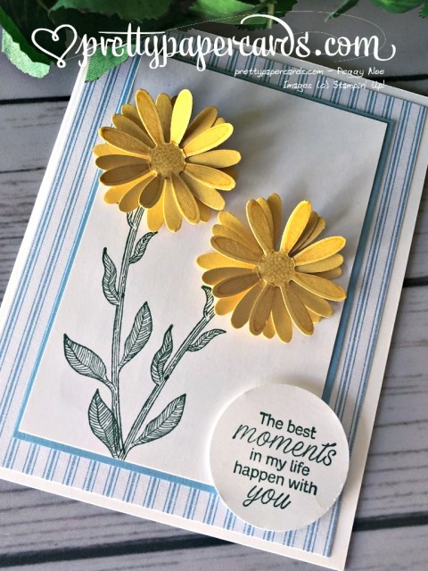 Stampin' Up! Daisy Lane Punch - prettypapercards - stampinup