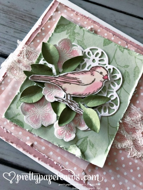 Stampin' Up! Free as a Bird - prettypapercards - stampinup