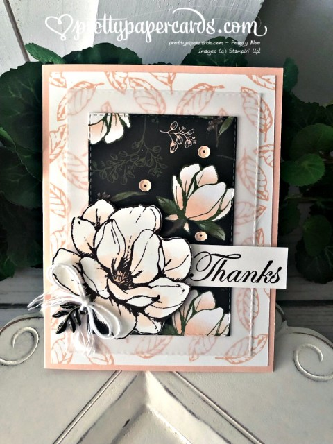Stampin' Up! Good Morning Magnolia - Peggy Noe - stampinup