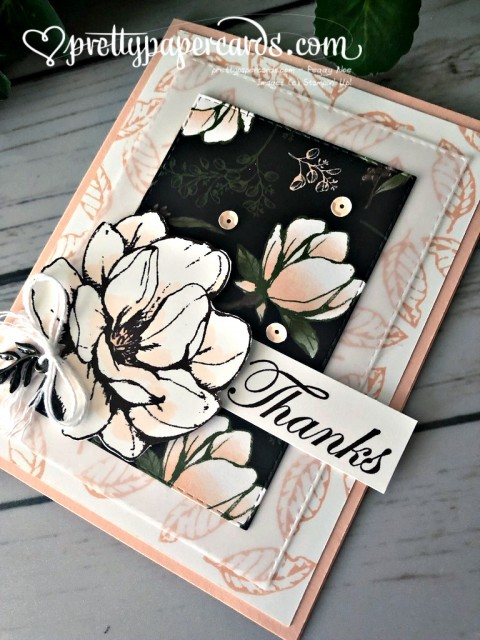 Stampin' Up! Good Morning Magnolia - prettypapercards - stampinup