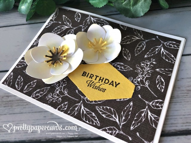 Stampin' Up! Magnolia Birthday Wishes Card - Peggy Noe - stampinup