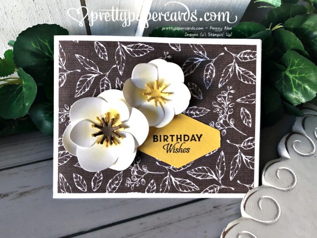 Stampin' Up! Magnolia Birthday Wishes - Peggy Noe - stampinup
