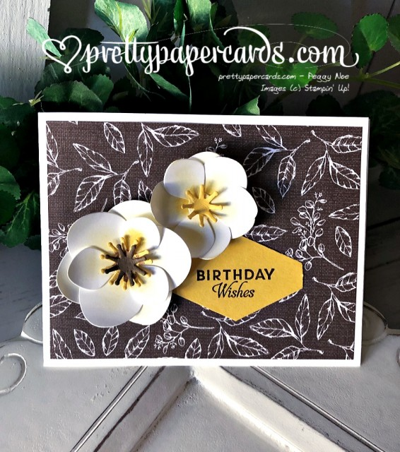 Stampin' Up! Magnolia Birthday Wishes - prettypapercards - stampinup
