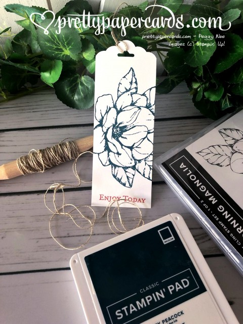 Stampin' Up! Magnolia Enjoy Today - Peggy Noe - stampinup