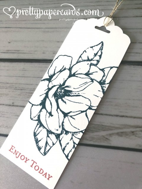 Stampin' Up! Magnolia Tag - Peggy Noe - stampinup