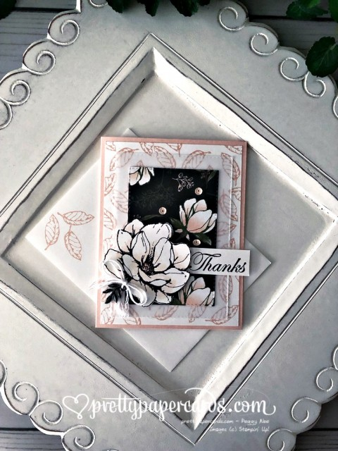 Stampin' Up! Magnolia Thanks - Peggy Noe - stampinup
