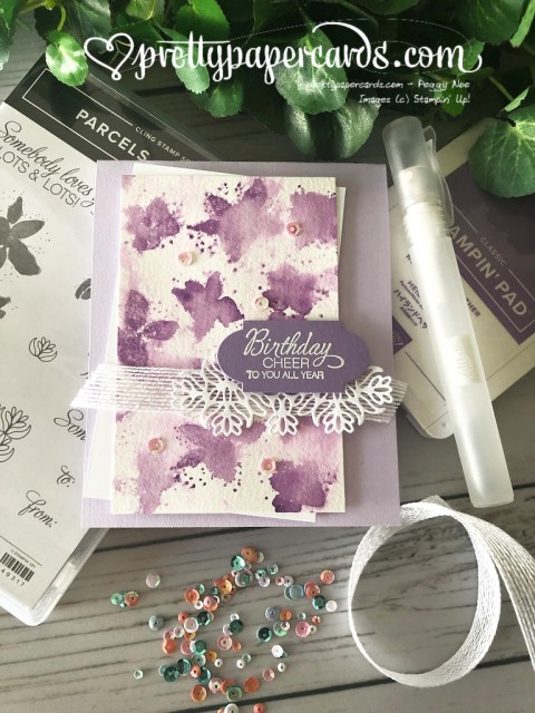 Stampin' Up! Parcels & Petals Birthday - Peggy Noe - stampinup