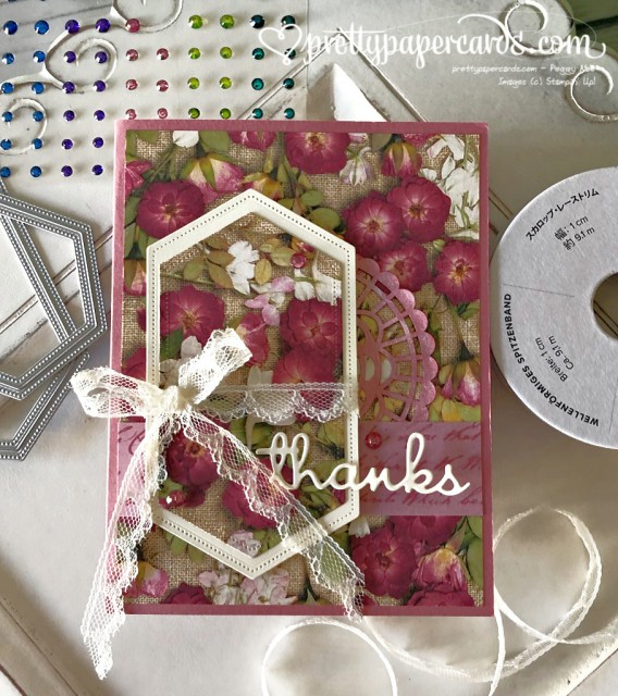 Stampin' Up! Pressed Petals 1- Peggy Noe - stampinup