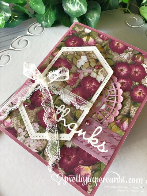 Stampin' Up! Pressed Petals Lace - Peggy Noe - stampinup