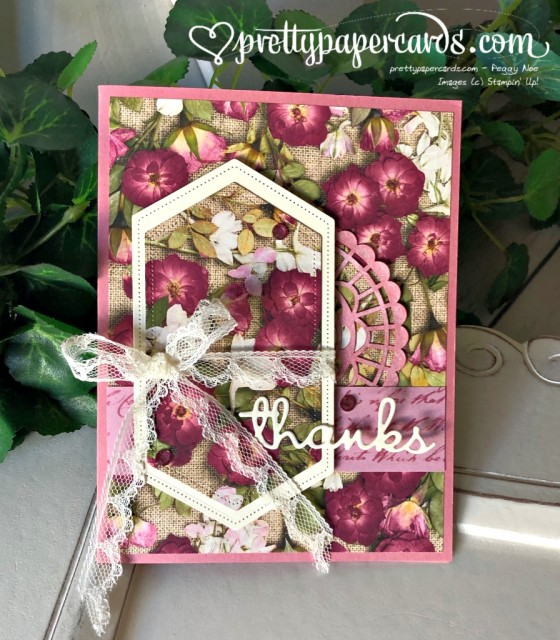 Stampin' Up! Pressed Petals - prettypapercards - stampinup