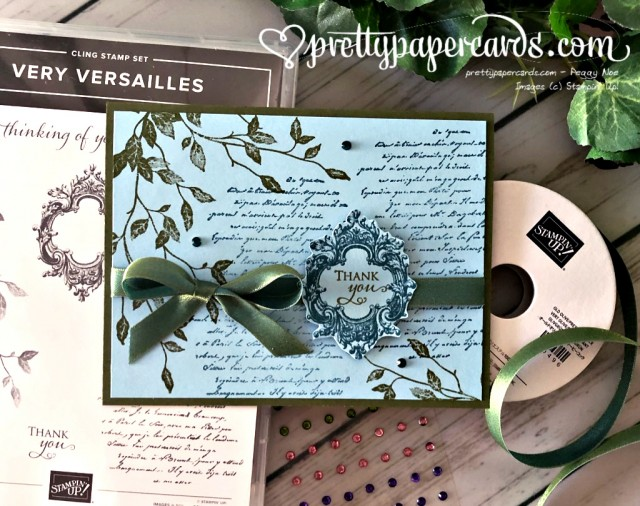 Stampin' Up! Very Versailles - prettypapercards - stampinup