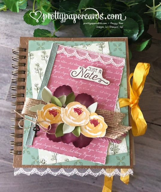 Stampin' Up! Beautiful Friendship Journal - Peggy Noe - stampinup