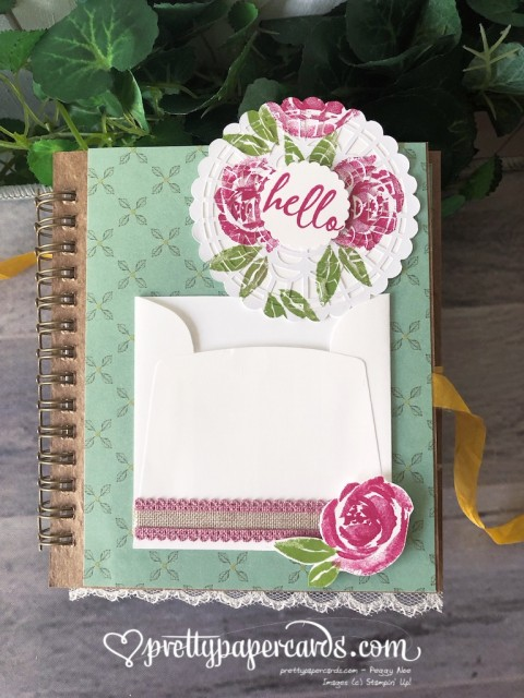 Stampin' Up! Beautiful Friendship Journal - prettypapercards - stampinup