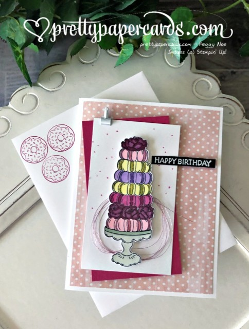 Stampin' Up! Birthday Goodness Card - Peggy Noe - stampinup