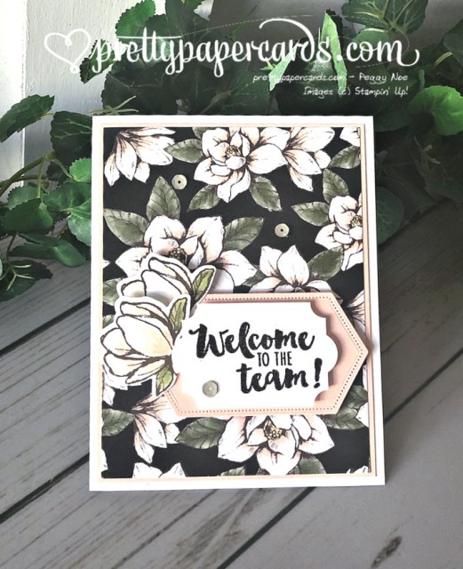 Stampin' Up! Daisy Lane Welcome - prettypapercards - stampinup
