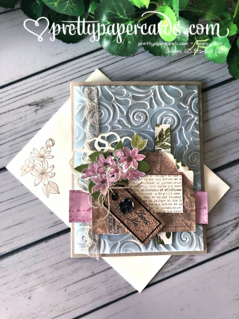 Stampin' Up! Fanciful Fragrance Card - Peggy Noe - stampinup