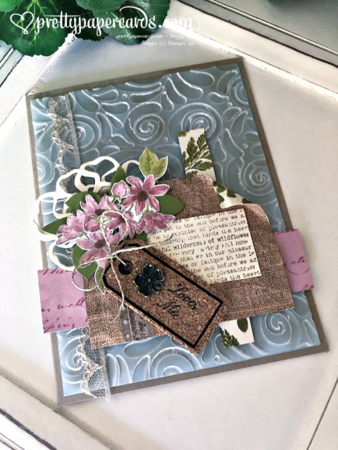 Stampin' Up! Fanciful Fragrance Garden - prettypapercards - stampinup