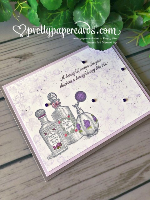 Stampin' Up! Fanciful Fragrance Splatter - prettypapercards - stampinup