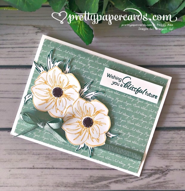 Stampin' Up! Floral Essence Card - Peggy Noe - stampinup