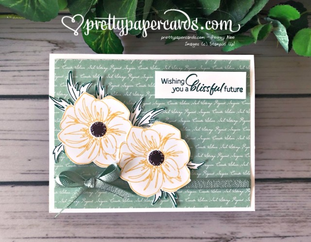 Stampin' Up! Floral Essence Card - prettypapercards - stampinup