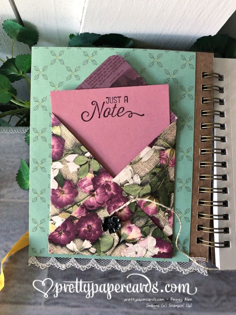 Stampin' Up! Journal Beautiful Friendship - prettypapercards - stampinup