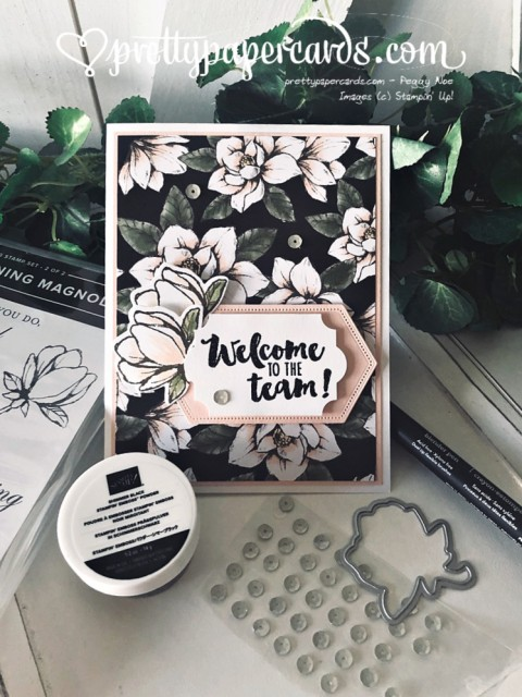 Stampin' Up! Magnolia Lane Welcome - Peggy Noe - stampinup