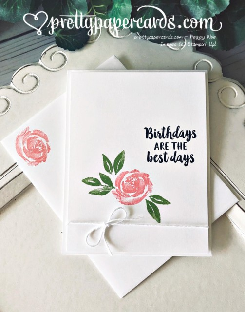 Stampin' Up! Simple Stampin' Beautiful Friendship - Peggy Noe - stampinup