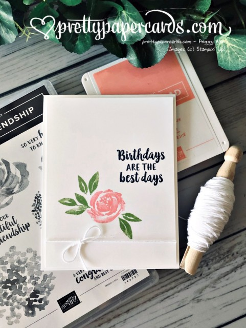 Stampin' Up! Simple Stampin' Beautiful Friendship - prettypapercards - stampinup