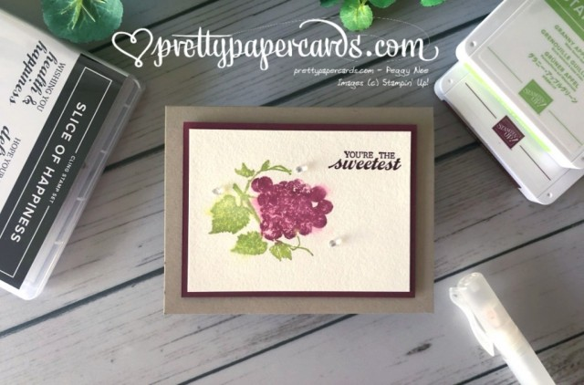Stampin' Up! Slice of Happiness - prettypapercards - stampinup