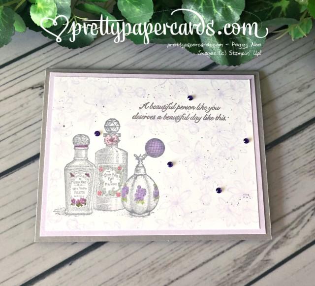 Stampin' Up! Splatter Fanciful Fragrance - Peggy Noe - stampinup