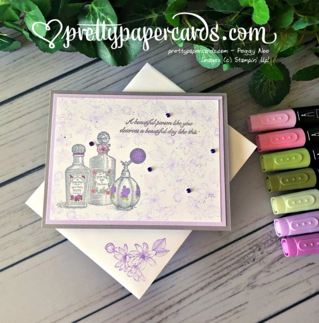 Stampin' Up! Splatter Fanciful Fragrance - prettypapercards - stampinup