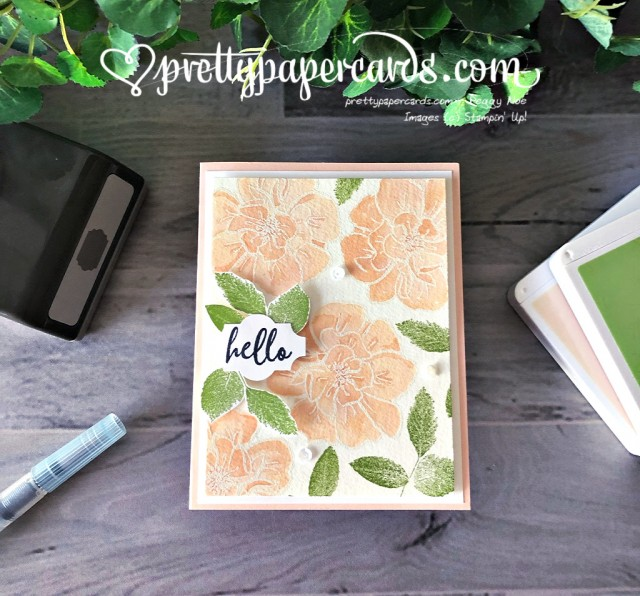 Stampin' Up! To a Wild Rose - prettypapercards - stampinup