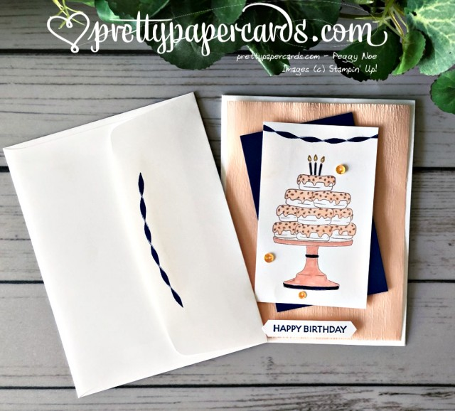 Stampin' Up! Birthday Goodness Donuts - Peggy Noe - stampinup