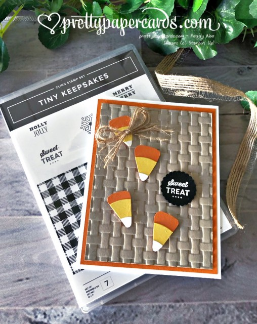 Stampin' Up! Candy Corn - Peggy Noe - stampinup